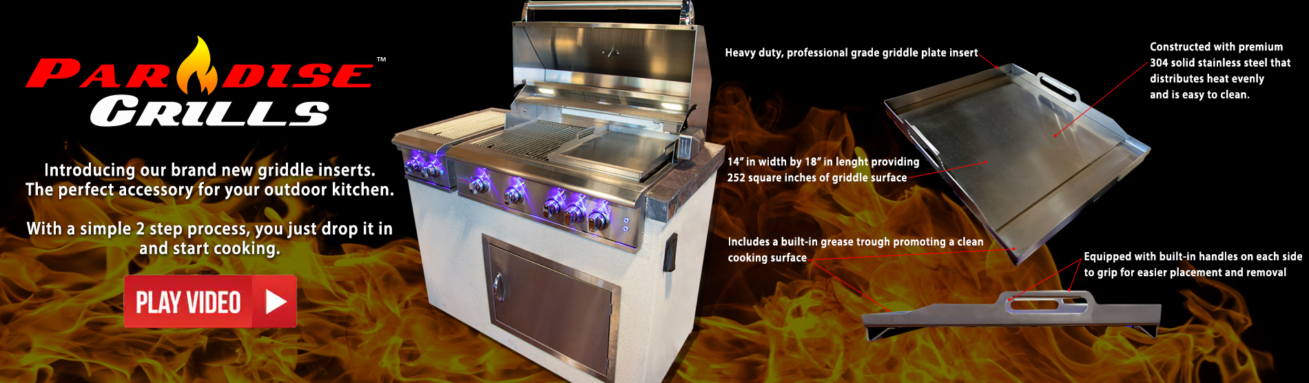 Paradise Grilling Systems Outdoor Kitchens, Bars, Grills, Fire Pits