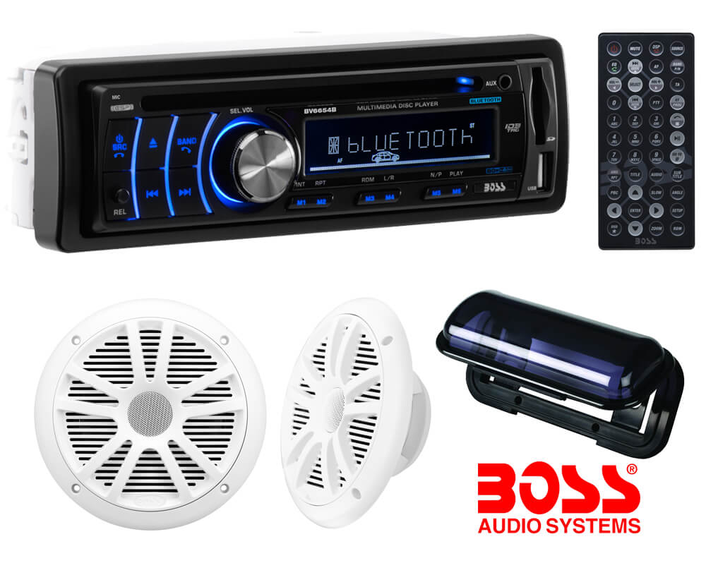 Tampa Outdoor Kitchens - Boss Audio Marine CD/DVD Stereo System