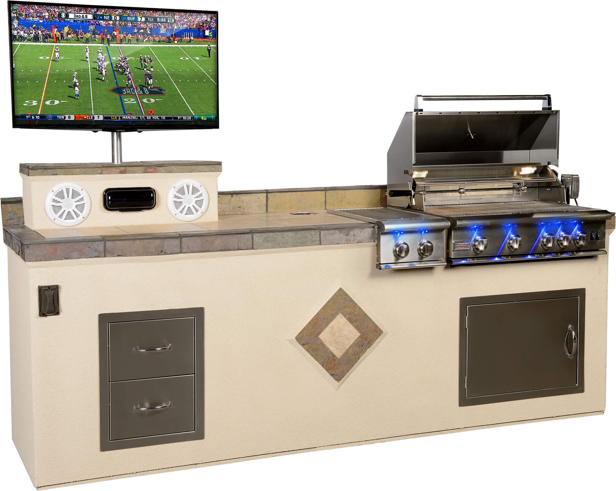 Tampa Outdoor Kitchens and Grilling Systems | Paradise Grills Direct