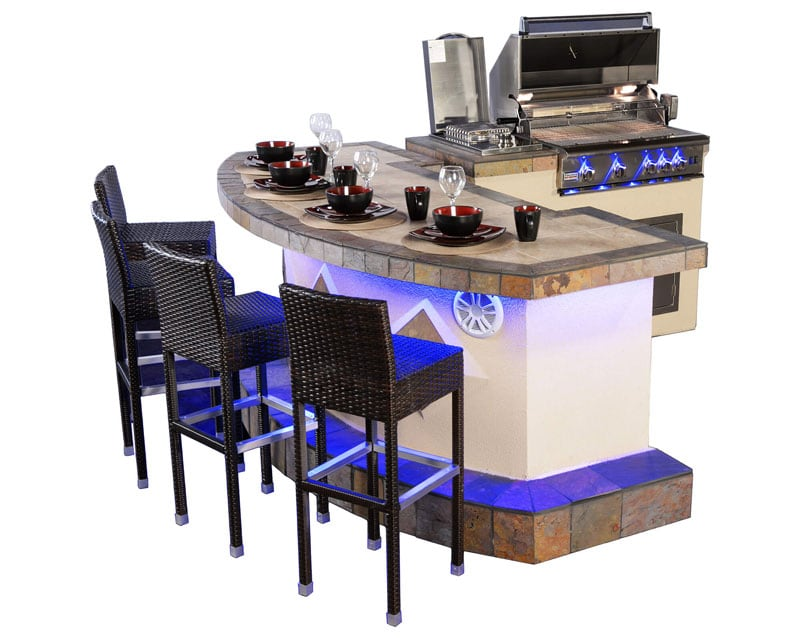 Houston Outdoor Kitchens Bbq Grills Fire Pits Paradise Grills Tx