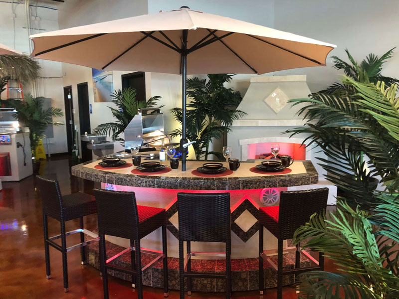 Jacksonville Outdoor Tiki Huts And Grills Kitchens