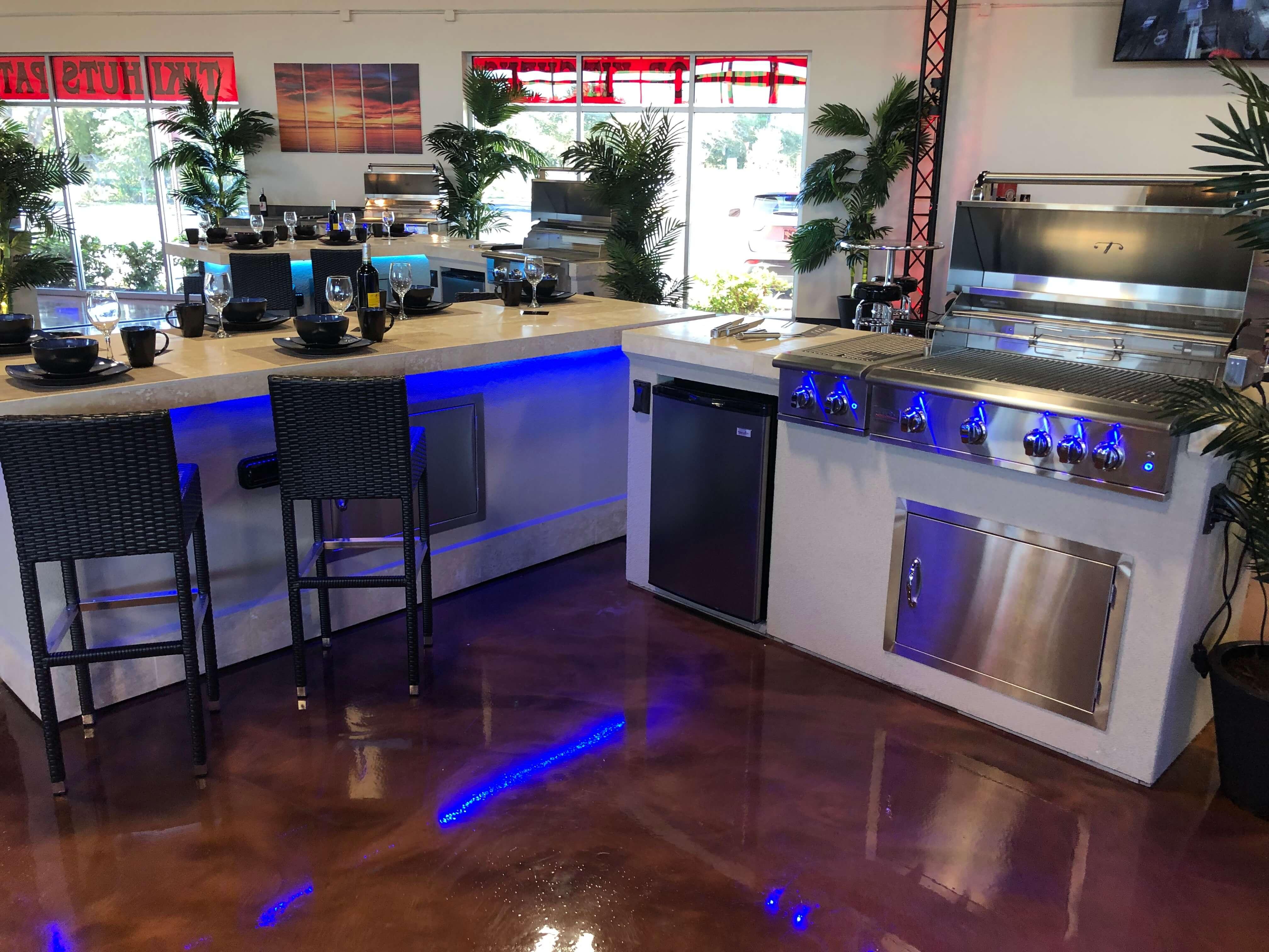Orlando Outdoor Kitchens New