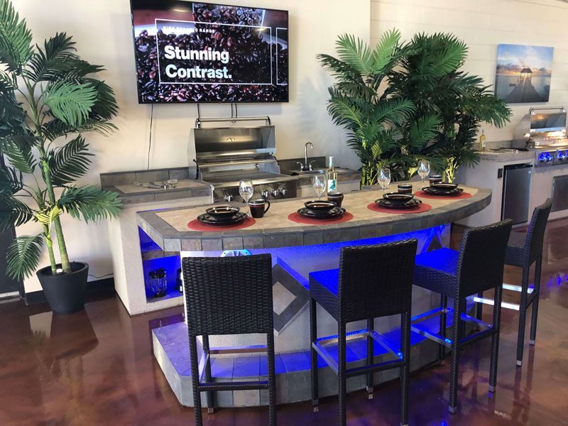 Orlando Outdoor Kitchens Bbq Grills Fire Pits Paradise Grills Fl