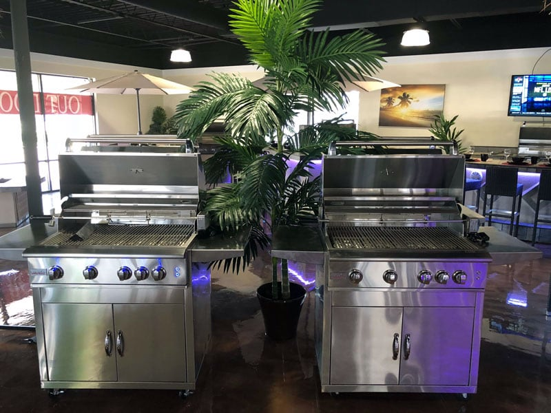 Super Outdoor Kitchens In Tampa Fl Bbq Grills Fire Pits More Interior Design Ideas Ghosoteloinfo