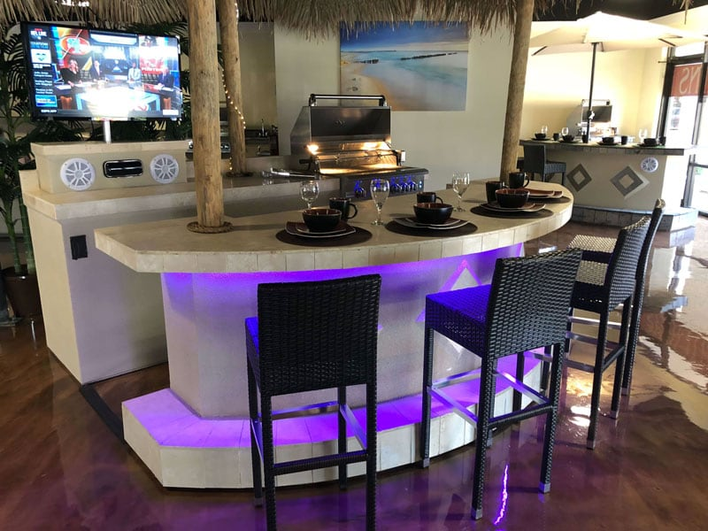 Tampa Outdoor Tiki Huts And Grills