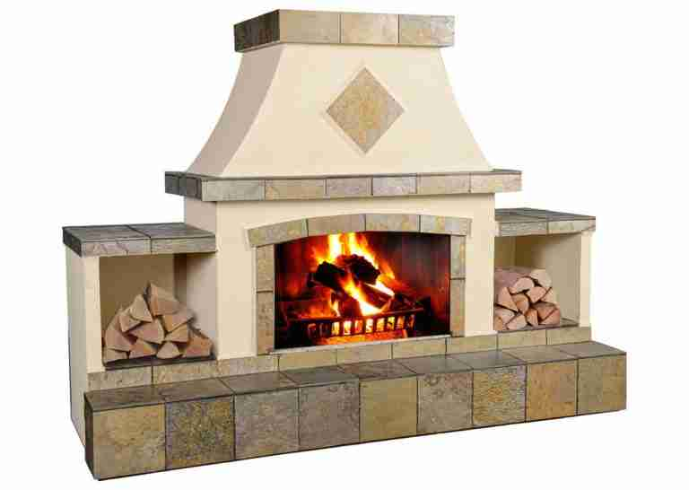 Large Fire Place