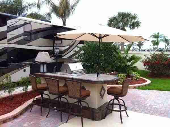 Outdoor Kitchens In Orlando