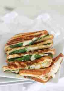 The Comfort Food of a grilled cheese