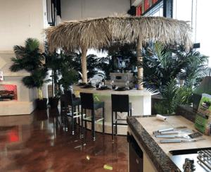 patio furniture - Miami outdoor kitchen
