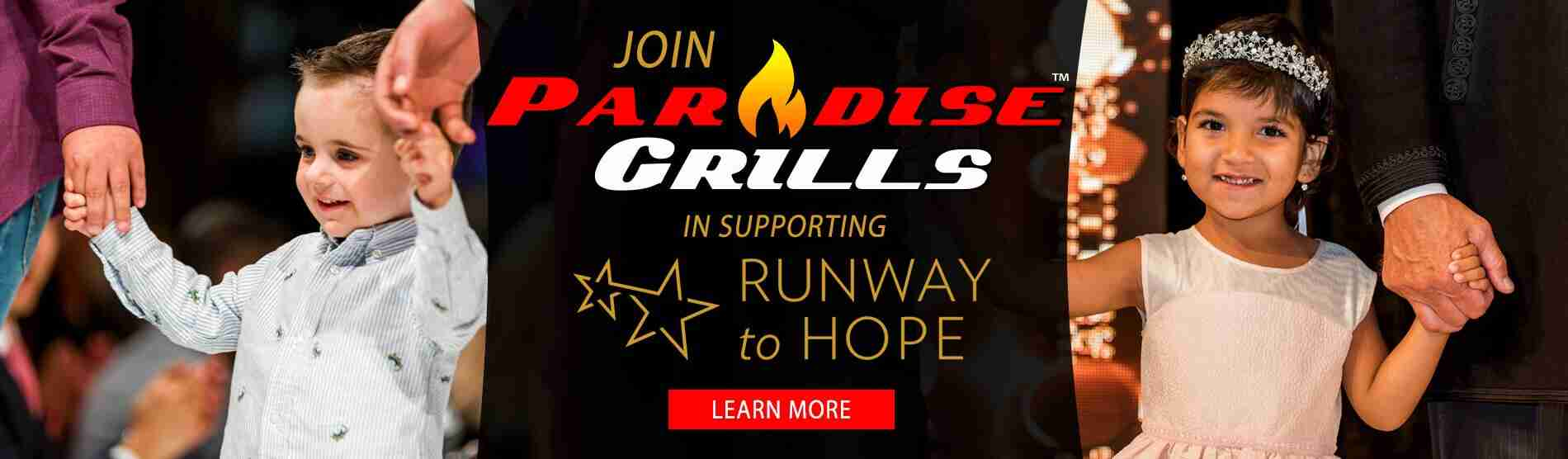 Paradise Grills is Proud to Support Runway to Hope