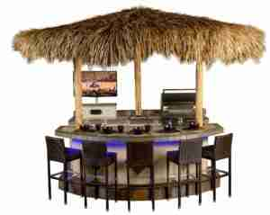 Amazing tropical Tiki Bar in Sarasota