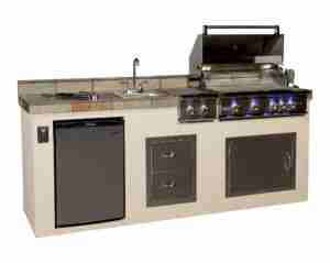 Quality outdoor kitchen