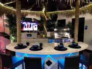 Tahiti Tiki Bar System and Outdoor Kitchen