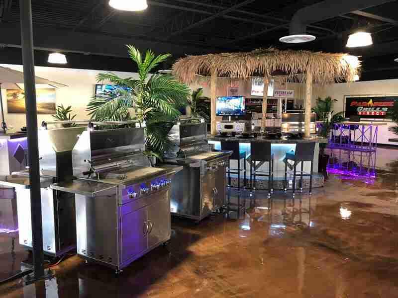 Paradise Grills Orlando Showroom