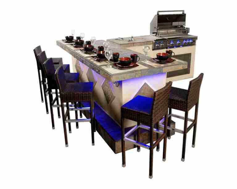 Paradise Grill's Exclusive Flexbuild Systems