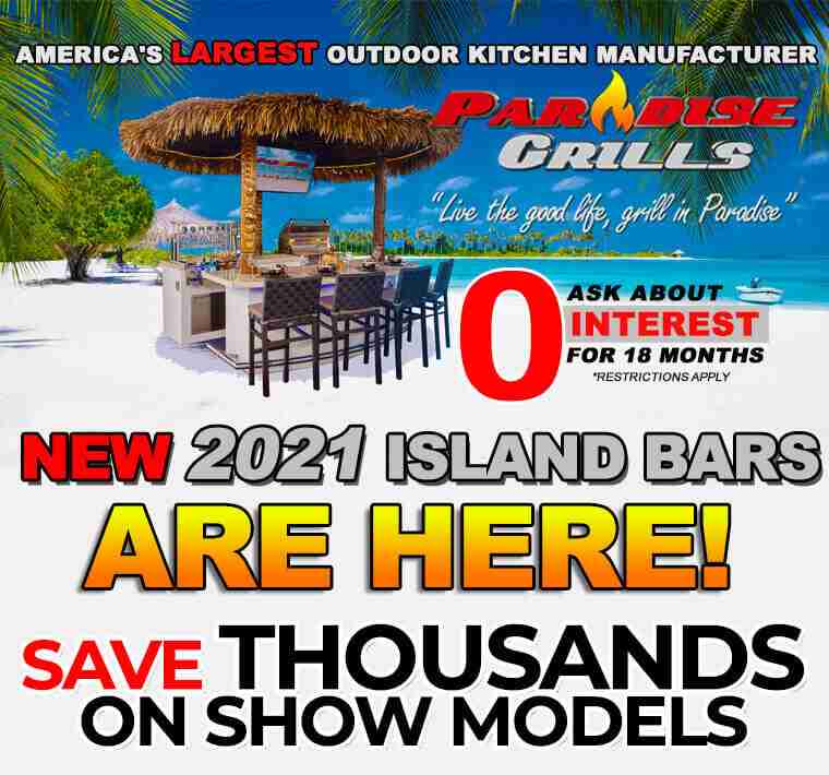Paradise Grills pop up modal