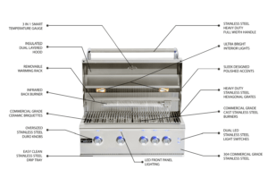 Outdoor Kitchens in Orlando | Paradise GSL-32 Premium Grill