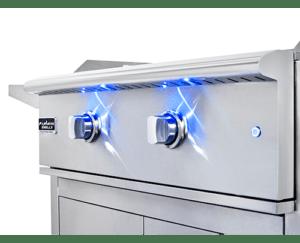 LED Knob Lights - Shenandoah, TX grill