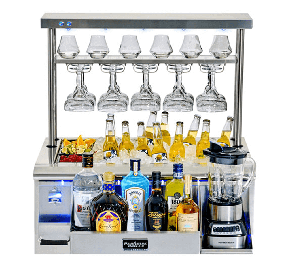 Paradise Grills Cocktail Station