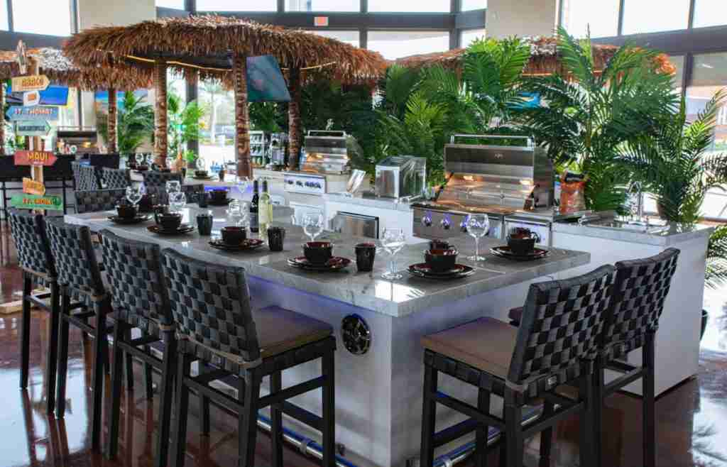 Outdoor Kitchen Maui Model - Bonita SPrings Showroom