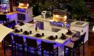Outdoor Kitchens in Naples SHowroom