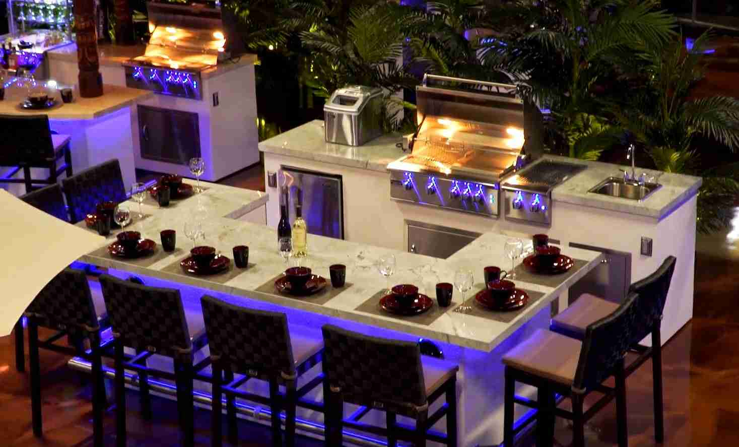 Outdoor Kitchens in Orlando, FL – Paradise Grills