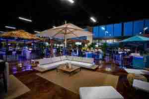 Patio furniture in the Fort Lauderdale Showroom