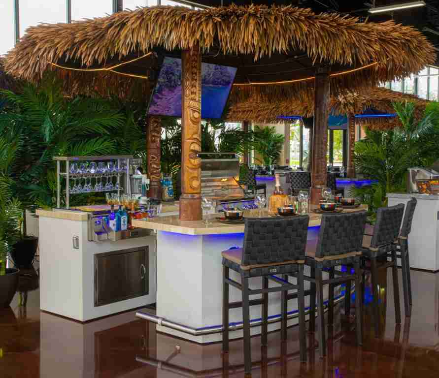Tiki hut for Outdoor Kitchen