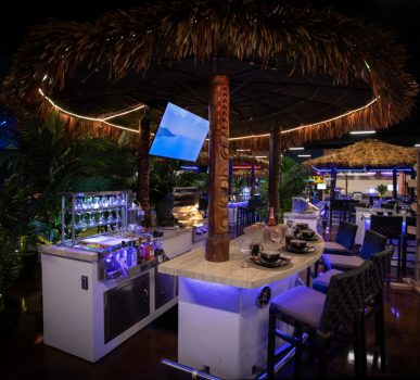 Tiki Hut Outdoor kitchens in Cape Coral Florida